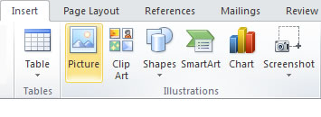 Insert A Picture From A File In Microsoft Word